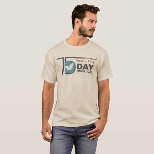 D_Day Overlord 1944 2019 Commemorations 75 T_Shirt