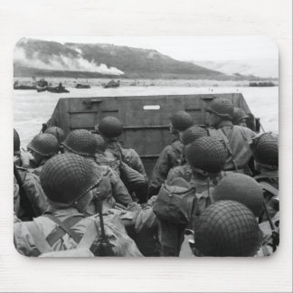D-Day Soldiers In A Higgins Boat Mouse Pad