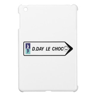D-Day The Clash, Road Sign, France Cover For The iPad Mini