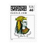 D. del sello del I.