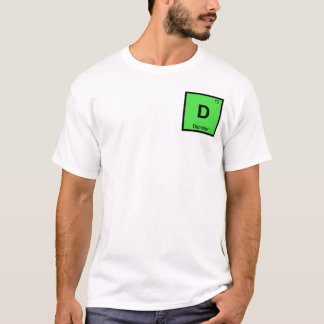D - Demeter Goddess Chemistry Periodic Table T-Shirt