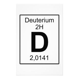 D - Deuterium Stationery