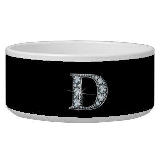 """D """"Diamond Bling"""" Pet Bowl"""