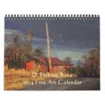 D. Eleinne Basa 2014 Fine Art Calendar