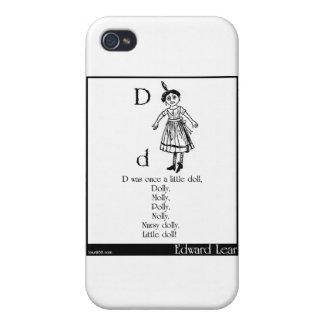 D era una vez una pequeña muñeca iPhone 4 protectores