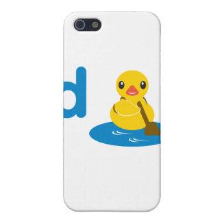 D es para el pato i iPhone 5 carcasa