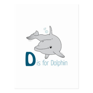 D está para el delfín postal