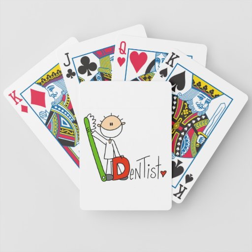 D está para el dentista barajas de cartas