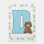 D está para el perro toallas de mano