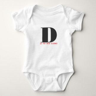 D está para la ciencia de los datos body para bebé