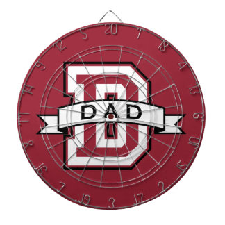 D for Dad Dart Board