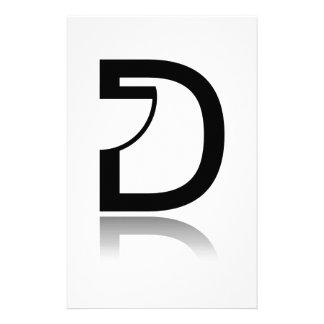 D for design stationery