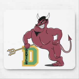 D For Devils Mouse Pads