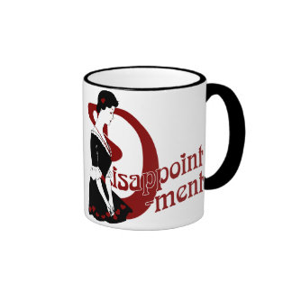 D for Disappointment Coffee Mug