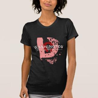 D grande (Rosado-DK) Camisetas