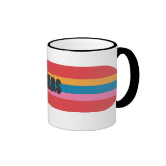 D grande taza a dos colores