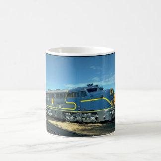 D&H Alco PA-1 #18. (tren; cielo; nubes; carril;) Taza De Café