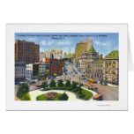 D & H Bldg View of State Street to Capitol Card