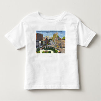D & H Bldg View of State Street to Capitol Toddler T-shirt