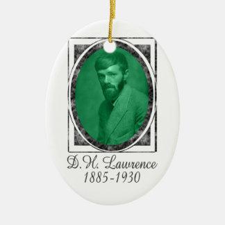 D.H. Lawrence Ceramic Ornament