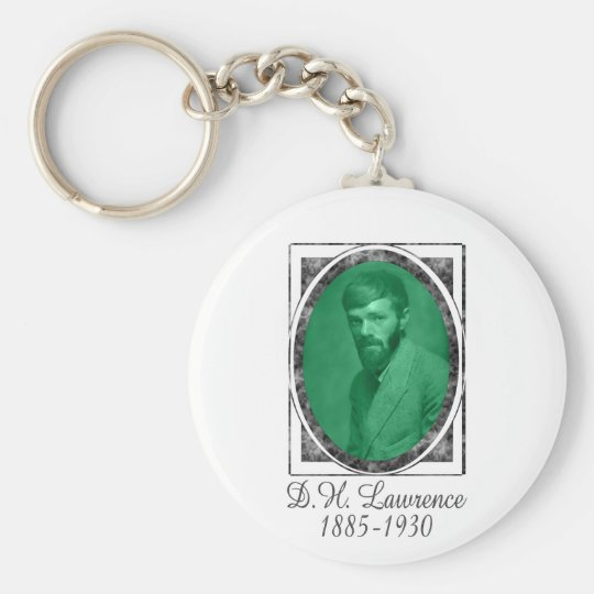 D.H. Lawrence Keychain