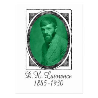 D.H. Lawrence Postcard
