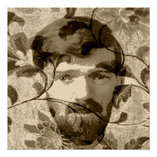 D H Lawrence Poster