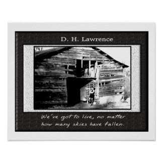 D. H. Lawrence - poster