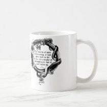 D.H. Lawrence Quote Mug, Snake Mug