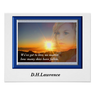 D. H. Lawrence - Quote Poster