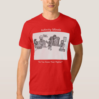 """D Hit """"Do You Know Your Rights?"""" AD Shirt"""