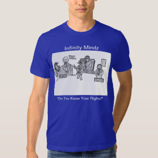"""D Hit """"Do You Know Your Rights?"""" Ad T-shirt"""