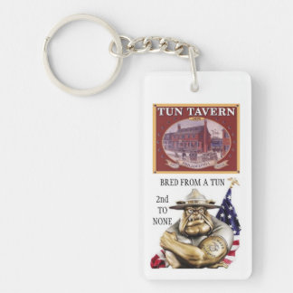 D.I. BULLDOG / BRED FROM A TUN SECOND TO NONE KEYCHAIN