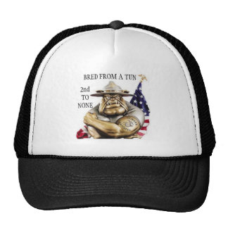 D.I. BULLDOG / BRED FROM A TUN SECOND TO NONE TRUCKER HAT