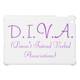 D.I.V.A. iPad Case