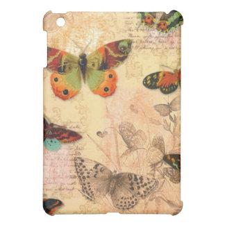 D iPad Case Vintage Butterflies iPad Cover