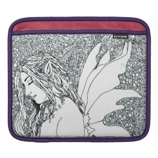 "D iPad & MacBook Sleeve ""Dreaming Fairy"""