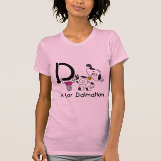 D is for Dalmation T-shirts and Gifts