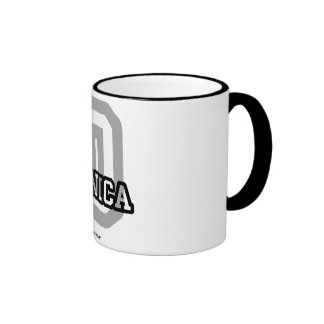 D is for Danica Ringer Mug