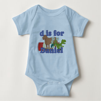 D is for Daniel Baby Bodysuit