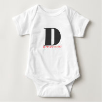 D is for data science baby bodysuit