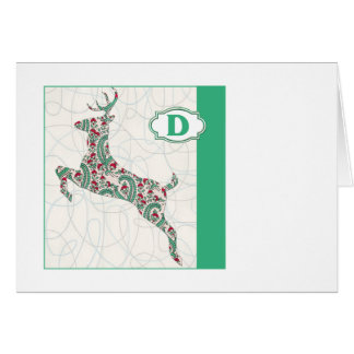 D is for Deer Card
