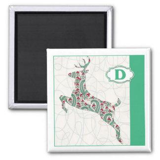 D is for Deer Magnet