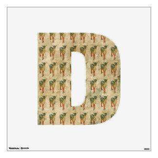 D is for Deer Wall Sticker