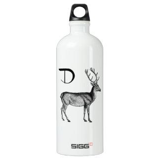 D is for Deer Water Bottle