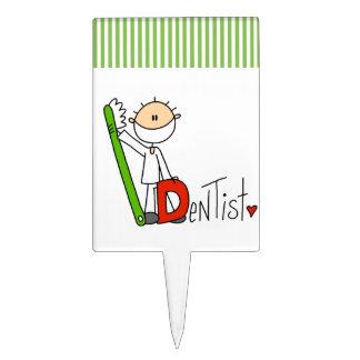 D is for Dentist Cake Topper