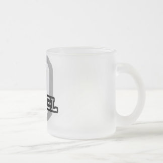D is for Denzel Frosted Glass Coffee Mug