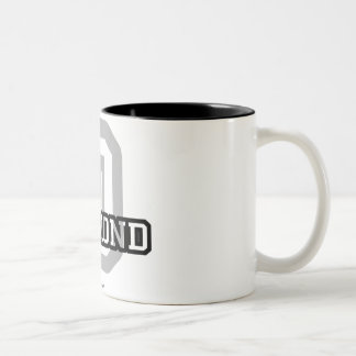D is for Desmond Two-Tone Coffee Mug
