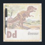 "D is for Dinosaur Dry-Erase Board<br><div class=""desc"">Artist: Jack and Jill   Alphabet D is for Dinosaur</div>"