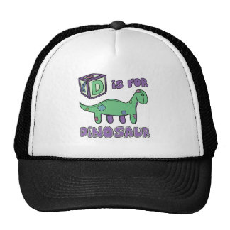 D is for Dinosaur Hat